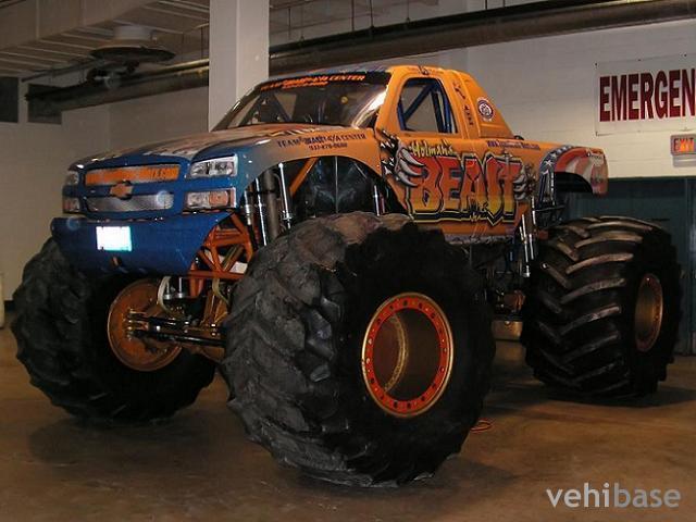 Holman 39 S Beast Monster Truck Vehibase