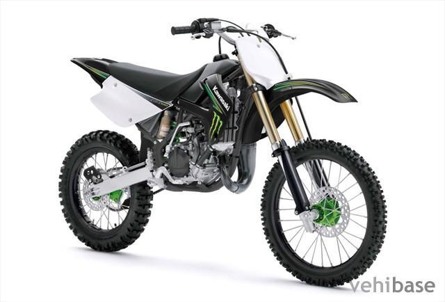 Kawasaki kx 100 monster energy